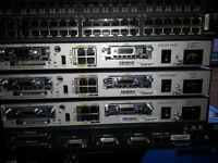 Cisco Lab - Cisco 1841, 2801, 3560, 3550, 2621, 2611XM and more