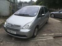 Citroen Picasso 1.6 DIESEL, June 19 MOT, smoking spares or repair