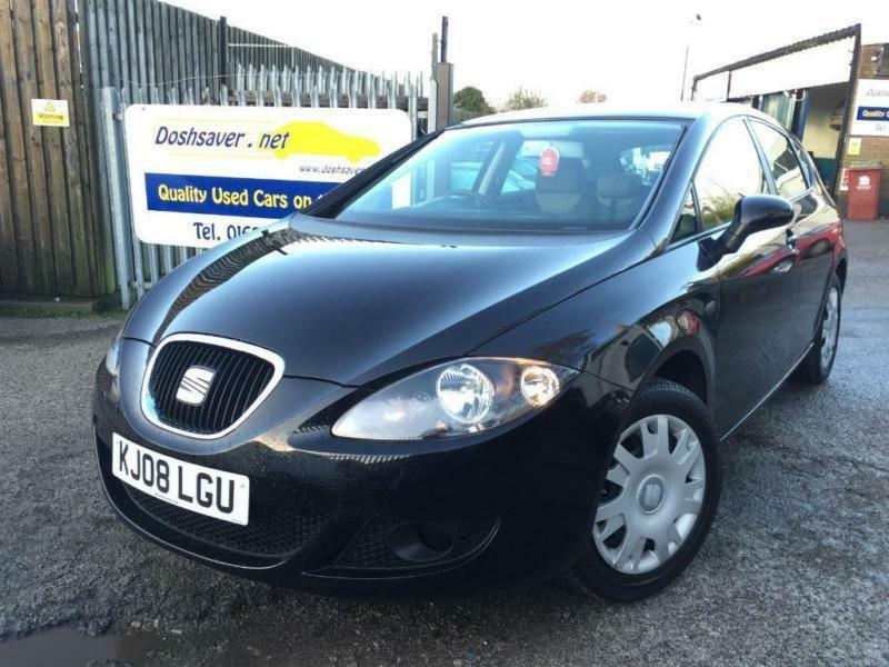 2008 seat leon 1 6 essence 5dr in mansfield nottinghamshire gumtree. Black Bedroom Furniture Sets. Home Design Ideas