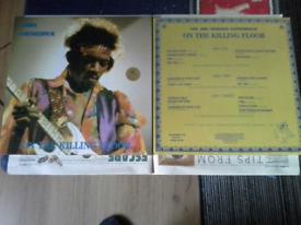 Jimi Hendrix 3 coloured vinyl box set