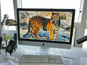 Apple iMac 27 with accessories