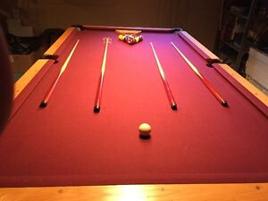 Grande table de billard 4'X8' Pool Table