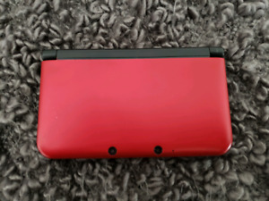 Nintendo 3ds xl with case and 2 pokemon games