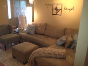Gorgeous sectional couch! $550 OBO!!!