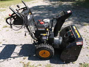 "Poulan Pro 27"" Snowblower,2-Stage Electric Start, For. & Reverse"