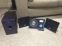 Teac TDX250i slim stereo system