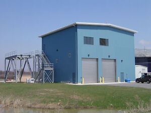 A STEEL BUILDING FOR NORTH BAY ONTARIO