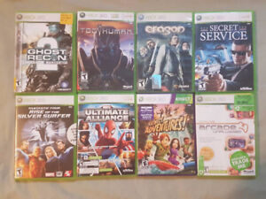 XBOX 360 games - over 20