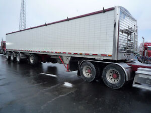 2013 Wilson 48 foot 3 compartment , 4 axle hopper trailer