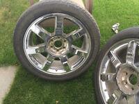 """22"""" OEM Factory Cadillac Escalade Wheels GM Yukon Sierra GMC"""