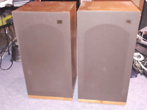 Monitor Audio, solid wood speakers from the 60s