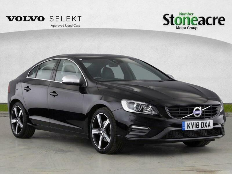 2018 Volvo S60 2 0 D4 R-Design Lux Nav Geartronic (s/s) 4dr | in Lincoln,  Lincolnshire | Gumtree
