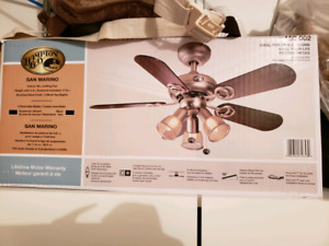 Brand new never used ceiling fan