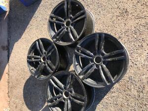 Bmw mag noir 17 pouces m6 f11 style 17 inch bmw rim wheels jante