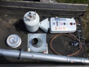 Hot water on demand. Off grid ready