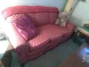 Antic Sofa and Matching Chairs.