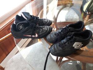 souliers de soccer pour enfant