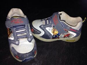 Toddler size 8 Paw Patrol runners.