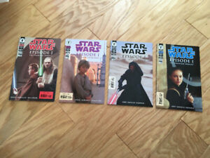"""Star Wars"" Phantom Menace (4 Comics)  Dark Horse (1999) *mint*"