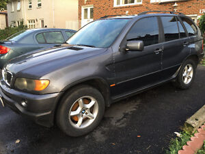 2002 BMW X5 SUV, Crossover