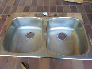 Double Kitchen Stainless Steel Sink
