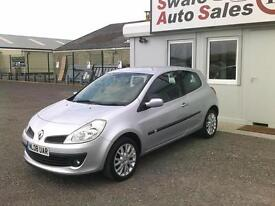 2008 RENAULT CLIO DYNAMIQUE 1.2L ONLY 36,357 MILES, FULL SERVICE HISTORY