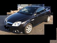 ★ 05 VAUXHALL TIGRA 1.4 PETROL BLACK CONVERTIBLE ★ SPARES OR REPAIR ★