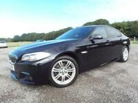 2012 12 BMW 5 SERIES 2.0 520D M SPORT 4D AUTO 181 BHP DIESEL
