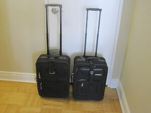 Two  small  carry on lugguage