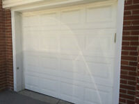 Garage Door and Life Master opener