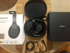 Sony MDR 1000X Noise Cancelling Headphones