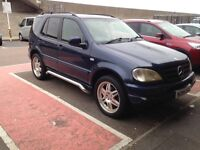 Mercedes ml320 7 seater automatic 12 month mot