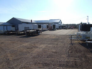 Enclosed and Open Trailers