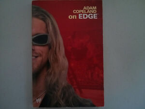 WWE WWF book Adam Copeland on Edge $5