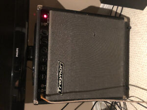 Two amps Two Pedals for?