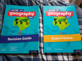 Geography Revision Guide and Exam Practice Books