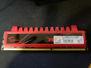 G. SKILL Ripjaws 16GB DDR3 1600 kit