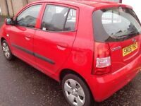 2006 KIA PICANTO 1.0L 5 DOOR MOT 1 YEAR SUPERB CONDITION CHEAP TAX PX SWAP