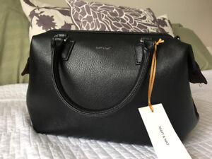 Matt & Nat Black Purse (Dwell Doctor Bag)