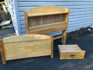 Single 3-Drawer Captain's Bed with Bamboo mattress