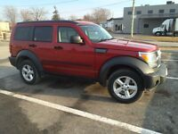 2007 dodge nitro 4x4 safety and etest
