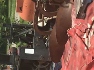 Two furrow plow. 3 point hitch. Good condition