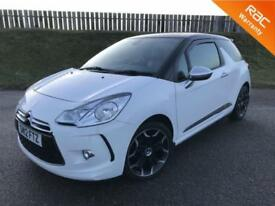 2012 CITROEN DS3 AIRDREAM DSPORT PLUS 1.6E-HDI 110PS - 45K MILES - F.S.H - 12 MONTHS WARRANTY