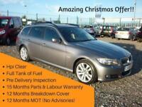 BMW 330d 3.0 SE TOURING, 15 MONTHS WARRANTY