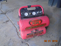 Parts washer and 4 gallon 2.5 horse air compressor