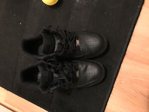 Black Air Force Ones Low Cut For $75 OBO