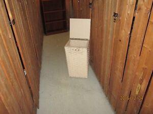 Storage unit - slatted wickerwork