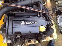 Corsa c / d 1.4 twinport z14xep 58k complete good strong engine 07594145438