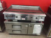 "Garland Natural Gas Grill 48"" with Chef Base"