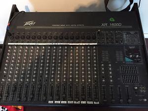 Console de musique 16 ''tracks'' Peavey